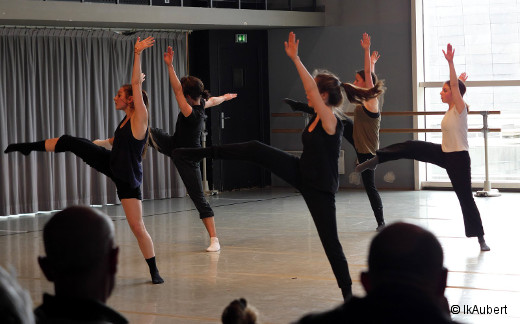 Les DNSP2 contemporaine, classe de danse jazz de Cathy Bisson