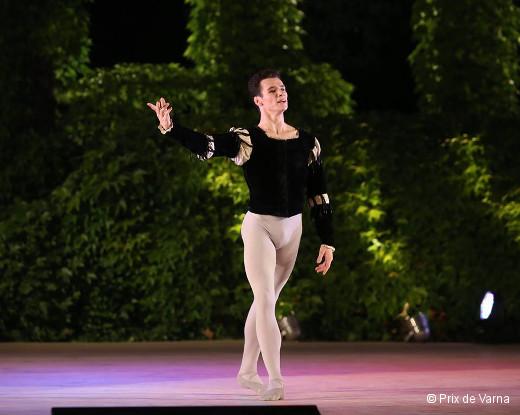 Prix de Varna 2016 - Paul Marque médaille d'or (Albrecht dans Giselle)