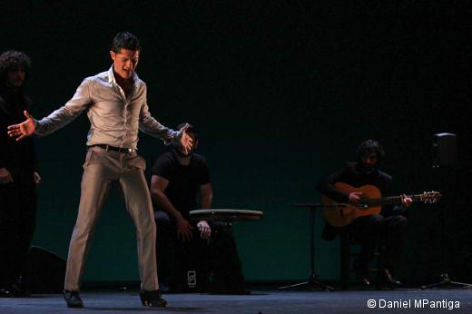 Rafael Campallo, présent à la deuxième Biennale des arts flamenco du Théâtre de Chaillot
