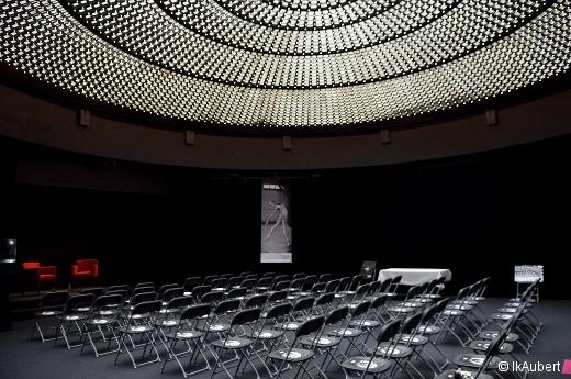 La salle d'Éléphant Paname avant la rencontre