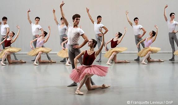 Spectacle 2017 de l cole de danse de l op ra de paris for Barre de danse occasion