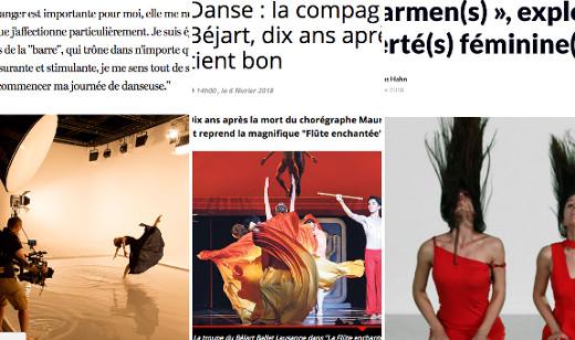 Revue de presse dans e s17 18 ep18 danses avec la for Barre de danse occasion