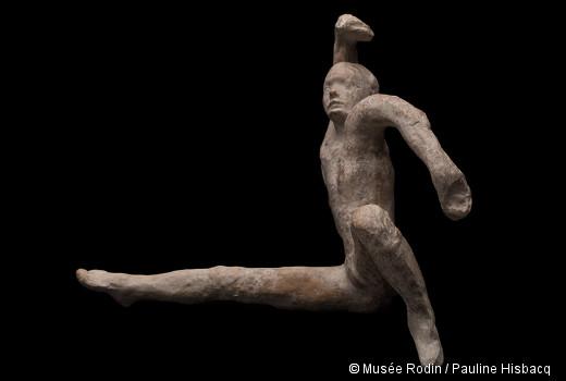 Auguste Rodin, Mouvement de danse F, 1911. Paris, musée d'Orsay, dépôt du musée Rodin © Musée Rodin / Pauline Hisbacq