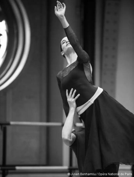 Amandine Albisson et Mathieu Ganio - Répétition de Roméo et Juliette