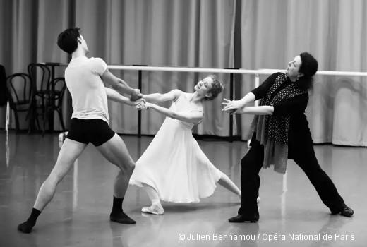 Germain Louvet et Léonore Baulac - En répétition de Roméo et Juliette