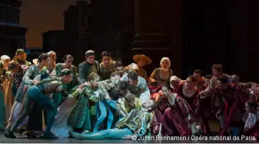 Roméo et Juliette - François Alu, la mort de Mercutio