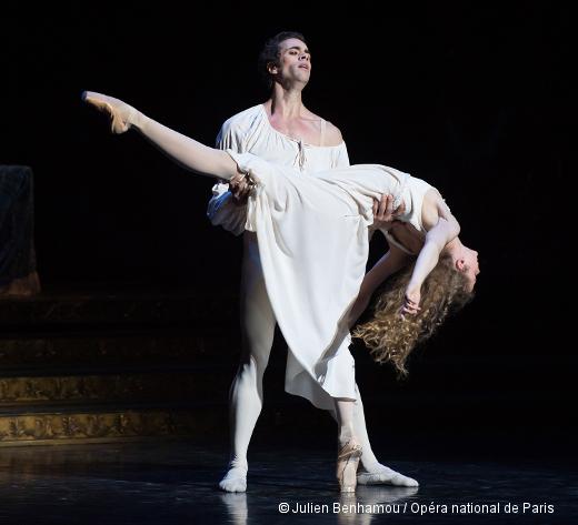 Roméo et Juliette - Mathias Heymann (Roméo) et Léonore Baulac (Juliette)