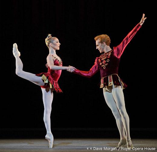 Sarah Lamb et Steven McRae - Joyaux (Rubis)