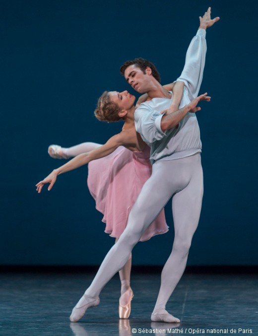 Sonatine de George Balanchine - Myriam Ould-Braham et Mathias Heymann