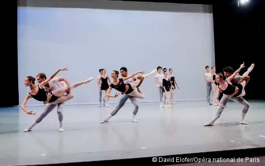 Stage d'été de l'École de Danse de l'Opéra de Paris