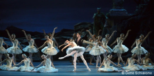 Swan Lake-Misty Copeland et James Whiteside