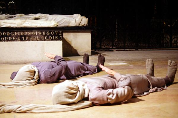 La Figure du gisant de Nathalie Pernette