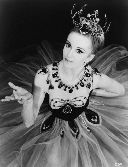 Violette Verdy dans Joyaux de George Balanchine