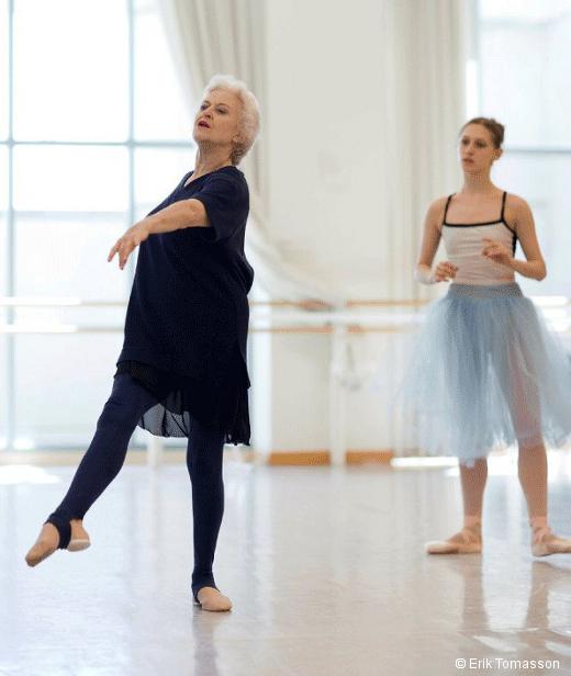 Violette Verdy enseignant au San Francisco Ballet