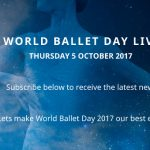 World Ballet Day #4 le 5 octobre – En direct des coulisses des grandes compagnies de danse